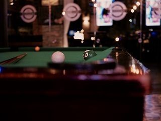 Pool table sizes in Williamsport